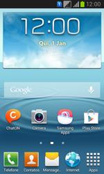 Samsung GT-I8552B Galaxy Win Duos - Rede móvel - Como ativar e desativar uma rede de dados - Etapa 1