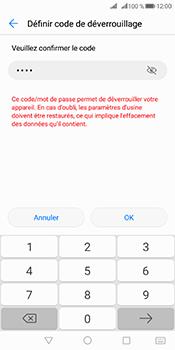 Huawei Mate 10 Pro - Sécuriser votre mobile - Activer le code de verrouillage - Étape 10