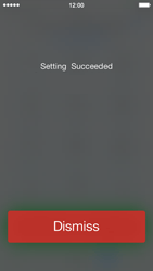 Apple iPhone 5c - Voicemail - Manual configuration - Step 7