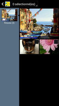 Samsung Galaxy Note 3 - Photos, vidéos, musique - Envoyer une photo via Bluetooth - Étape 7