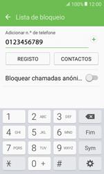 Samsung Galaxy Xcover 3 (G389) - Chamadas - Bloquear chamadas de um número -  10