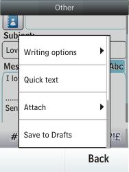 Nokia C2-03 - E-mail - Sending emails - Step 14