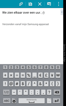 Samsung N915FY Galaxy Note Edge - E-mail - Hoe te versturen - Stap 10