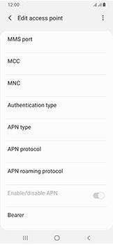 Samsung Galaxy A40 - MMS - Manual configuration - Step 12