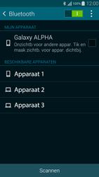Samsung Galaxy Alpha 4G (SM-G850F) - Bluetooth - Aanzetten - Stap 5