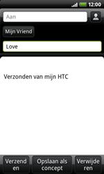 HTC A7272 Desire Z - E-mail - e-mail versturen - Stap 5