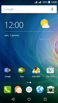 Acer Liquid Z630 - MMS - configuration automatique - Étape 2