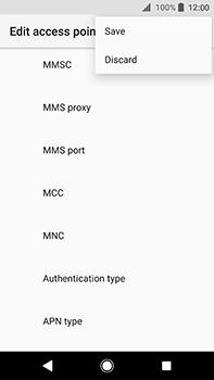 Sony Xperia XA2 Ultra - Internet - Manual configuration - Step 16