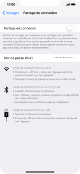 Apple iPhone XR - Internet - Configurer un point d'accès mobile - Étape 6