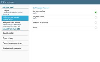 Samsung T535 Galaxy Tab 4 10-1 - Internet - Configuration manuelle - Étape 21