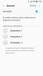 Samsung Galaxy J5 (2017) - Bluetooth - Conectar dispositivos a través de Bluetooth - Paso 7