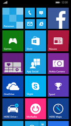 Nokia Lumia 830 4G (Type RM-984) - Applicaties - Account aanmaken - Stap 1