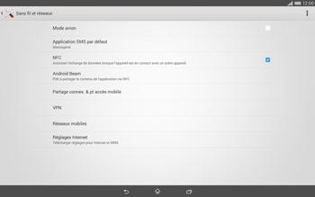 Sony Xperia Tablet Z2 (SGP521) - Internet - activer ou désactiver - Étape 5
