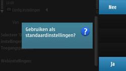 Nokia N97 - Automatisch instellen - Automatisch Internet instellen - Stap 5