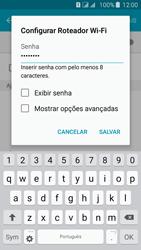 Samsung Galaxy J5 - Wi-Fi - Como usar seu aparelho como um roteador de rede wi-fi - Etapa 8