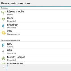 BlackBerry Passport - WiFi et Bluetooth - Jumeler votre téléphone avec un accessoire bluetooth - Étape 5