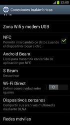Samsung I9300 Galaxy S III - Red - Seleccionar el tipo de red - Paso 5