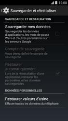 Bouygues Telecom Ultym 5 II - Aller plus loin - Restaurer les paramètres d'usines - Étape 5