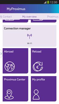 Samsung Galaxy S5 G900F - Applications - MyProximus - Step 19