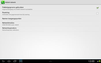 Samsung P5100 Galaxy Tab 2 10-1 - Internet - aan- of uitzetten - Stap 6