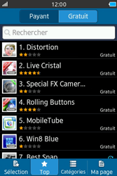 Samsung Wave M - Applications - Télécharger une application - Étape 8