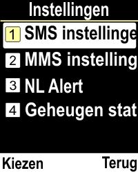 Emporia CLICKplus 3G (Model V32-3G) - SMS - Handmatig instellen - Stap 5