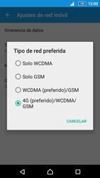 Sony Xperia Z5 Compact - Red - Seleccionar el tipo de red - Paso 7