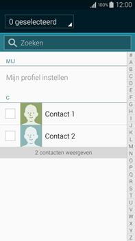Samsung N910F Galaxy Note 4 - Contactgegevens overzetten - delen via Bluetooth - Stap 6