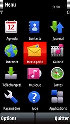 Nokia 5800 Xpress Music - E-mail - envoyer un e-mail - Étape 2
