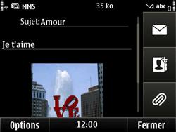 Nokia E6-00 - MMS - Envoi d