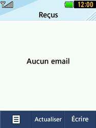 LG T580 - E-mails - Ajouter ou modifier un compte e-mail - Étape 4