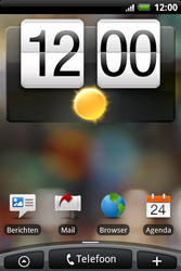 HTC A6262 Hero - Voicemail - Handmatig instellen - Stap 1