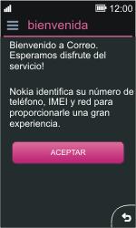 Nokia Asha 311 - E-mail - Configurar correo electrónico - Paso 4