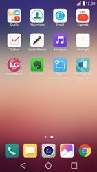 LG X Screen - E-mail - Configuration manuelle - Étape 3
