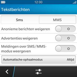 BlackBerry Q5 - MMS - probleem met ontvangen - Stap 7