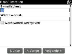 BlackBerry 9300 Curve 3G - E-mail - Handmatig instellen - Stap 10