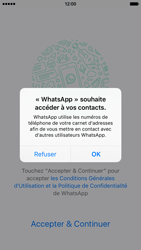 Apple iPhone 6 iOS 9 - WhatsApp - Activer WhatsApp - Étape 4