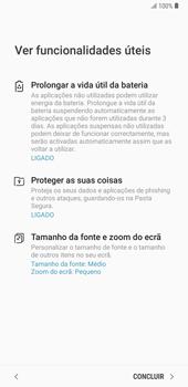 Samsung Galaxy Note9 - Primeiros passos - Como ligar o telemóvel pela primeira vez -  21