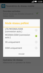 Alcatel OT-5050X Pop S3 - Internet et connexion - Activer la 4G - Étape 7