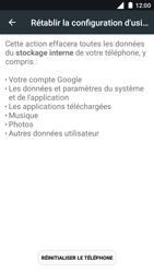 Nokia 5 - Device maintenance - Retour aux réglages usine - Étape 7