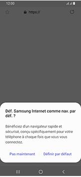 Samsung Galaxy A40 - Internet - configuration manuelle - Étape 24