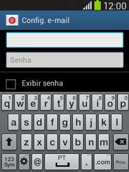 Samsung S5310B Galaxy Pocket Neo - Email - Como configurar seu celular para receber e enviar e-mails - Etapa 6