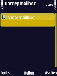 Nokia N86 - Voicemail - Handmatig instellen - Stap 6