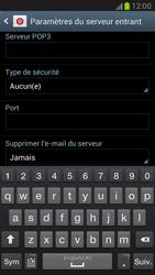 Samsung Galaxy Note 2 - E-mails - Ajouter ou modifier un compte e-mail - Étape 7