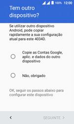 Alcatel Pixi 4 - Primeiros passos - Como ativar seu aparelho - Etapa 8