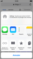 Apple iPhone SE - iOS 11 - Internet - navigation sur Internet - Étape 16