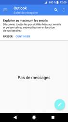 Sony Xperia XZ1 - E-mails - Ajouter ou modifier votre compte Outlook - Étape 5