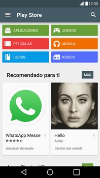 LG G4 - Aplicaciones - Descargar aplicaciones - Paso 4