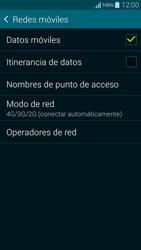 Samsung G850F Galaxy Alpha - Red - Seleccionar el tipo de red - Paso 6