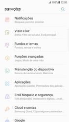 Samsung Galaxy S7 Edge - Android Nougat - Segurança - Como ativar o código de bloqueio do ecrã -  4